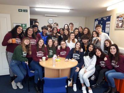 stage linguistico in UK classe 3B